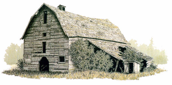 Limited Edition Prints Of Heritage Barns Dianna Ponting